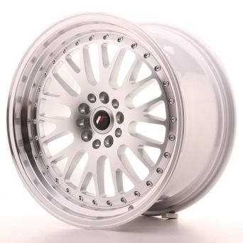 Japan Racing Wheels - JR-10 Silver Machined (18x9.5 inch)