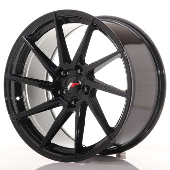 Japan Racing Wheels - JR-36 Glossy Black (19x9.5 inch)