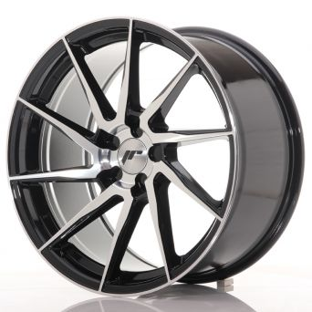 Japan Racing Wheels - JR-36 Black Machined (19x9.5 inch)