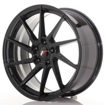 Japan Racing Wheels - JR-36 Glossy Black (20x9 inch)