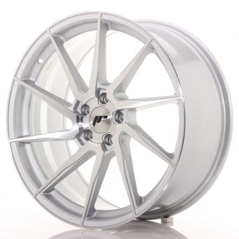 Japan Racing Wheels - JR-36 Brushed Silver (20x9 inch)