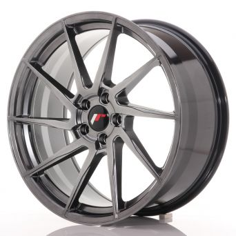 Japan Racing Wheels - JR-36 Hyper Black (20x9 inch)