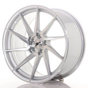 Japan Racing Wheels - JR-36 Brushed Silver (20x10 inch)