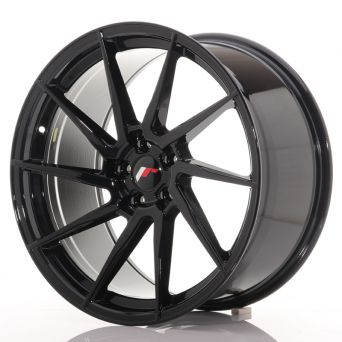 Japan Racing Wheels - JR-36 Glossy Black (20x10 inch)
