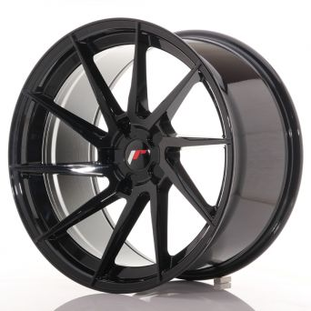 Japan Racing Wheels - JR-36 Glossy Black (20x10.5 inch)