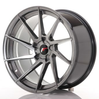 Japan Racing Wheels - JR-36 Hyper Black (20x10.5 inch)