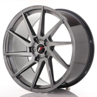 Japan Racing Wheels - JR-36 Hyper Black (22x10.5 inch)