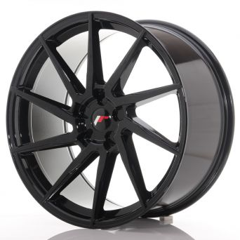 Japan Racing Wheels - JR-36 Glossy Black (22x10.5 inch)