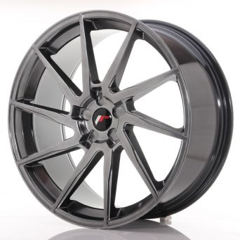 Japan Racing Wheels - JR-36 Hyper Black (23x10 inch)