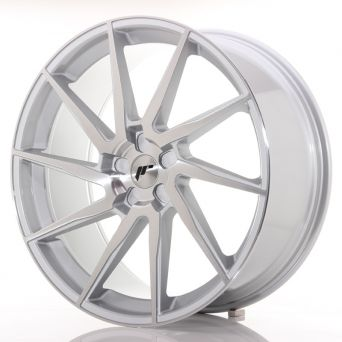 Japan Racing Wheels - JR-36 Brushed Silver (23x10 inch)