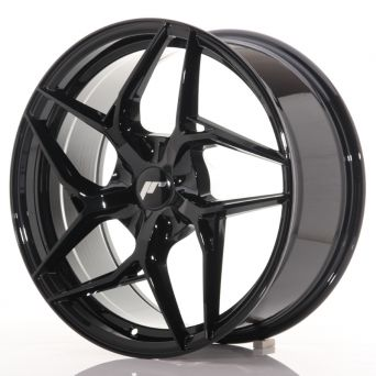 Japan Racing Wheels - JR-35 Glossy Black 19x8.5 inch)