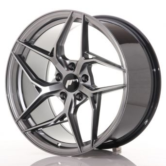 Japan Racing Wheels - JR-35 Hyper Black (19x9.5 inch)