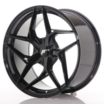 Japan Racing Wheels - JR-35 Glossy Black (19x9.5 inch)