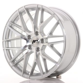 Japan Racing Wheels - JR-28 Silver Machined (18x7.5 inch)