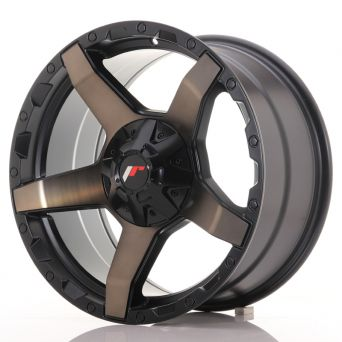 Japan Racing Wheels - JR-X5 Titanium Black (18x9 inch)