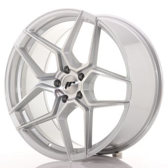 Japan Racing Wheels - JR-34 Silver Machined (19x8.5 inch)