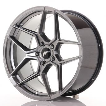 Japan Racing Wheels - JR-34 Hyper Black (20x10.5 inch)