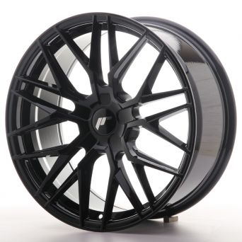 Season Sale - Japan Racing Wheels - JR-28 Glossy Black (19x8.5 inch)