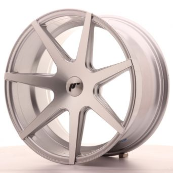 Japan Racing Wheels - JR-20 Silver Machined (19x9.5 inch)