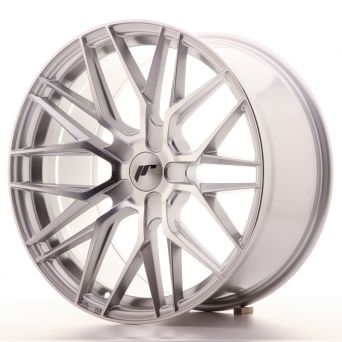 Japan Racing Wheels - JR-28 Silver Machined (19x9.5 inch)