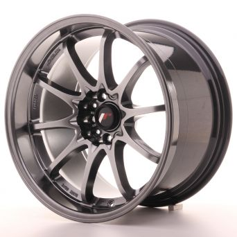 Japan Racing Wheels - JR-5 Hyper Black (18x10.5 inch)