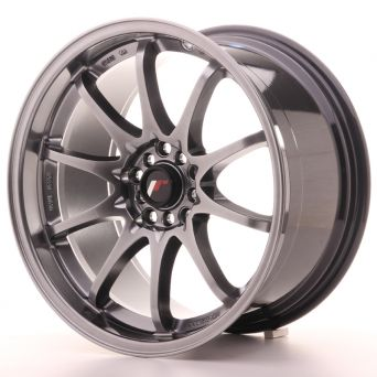 Japan Racing Wheels - JR-5 Hyper Black (18x9.5 inch)