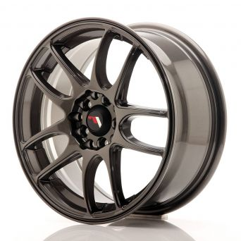 Japan Racing Wheels - JR-29 Hyper Gray (16x7 inch)