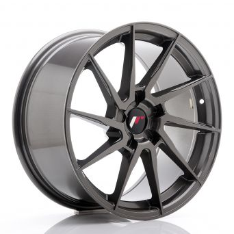Japan Racing Wheels - JR-36 Hyper Gray (18x9 inch)