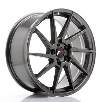 Japan Racing Wheels - JR-36 Hyper Gray (19x8.5 inch)