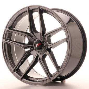 Season Sale - Japan Racing Wheels - JR-25 Hiper Black (20x10 inch)