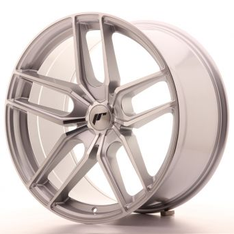 Season Sale - Japan Racing Wheels - JR-25 Silver Machined (20x10 inch)