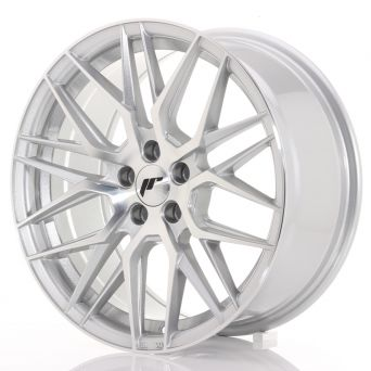 Season Sale - Japan Racing Wheels - JR-28 Silver Machined (17x8 inch)