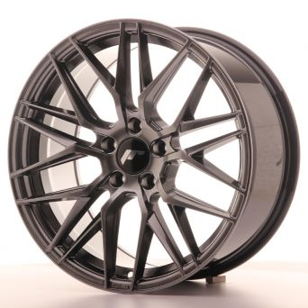 Season Sale - Japan Racing Wheels - JR-28 Hyper Black (18x8.5 inch)