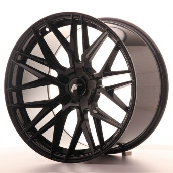 Season Sale - Japan Racing Wheels - JR-28 Glossy Black (19x10.5 Zoll)
