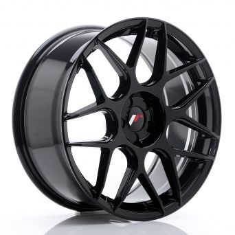 Japan Racing Wheels - JR-18 Glossy Black (19x8.5 inch)