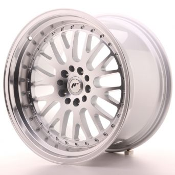 Japan Racing Wheels - JR-10 Silver Machined (19x11 inch)