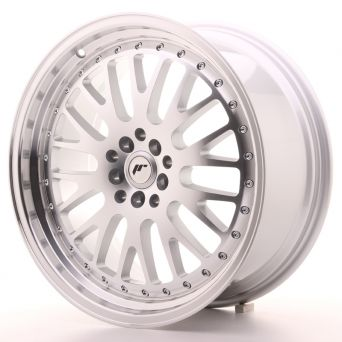 Japan Racing Wheels - JR-10 Silver Machined (19x8.5 inch)