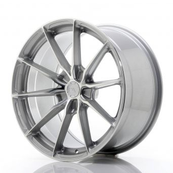 Japan Racing Wheels - JR-37 Silver Machined (19x9.5 inch)