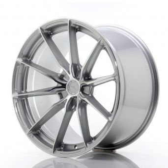Japan Racing Wheels - JR-37 Silver Machined (20x10.5 inch)