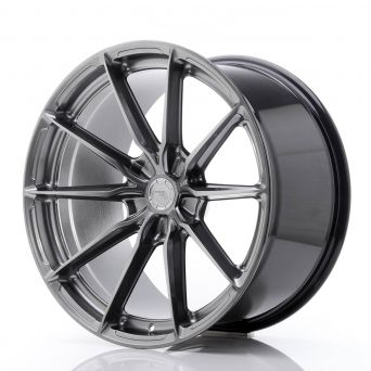 Japan Racing Wheels - JR-37 Hyper Black (20x10.5 inch)