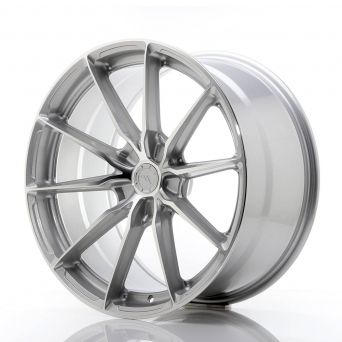 Japan Racing Wheels - JR-37 Silver Machined (20x10 inch)
