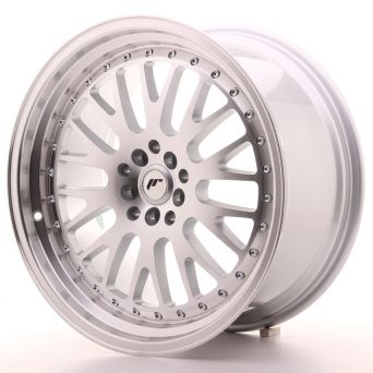 Japan Racing Wheels - JR-10 Silver Machined (19x9.5 inch)
