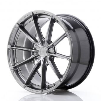 Japan Racing Wheels - JR-37 Hyper Black (20x10 inch)