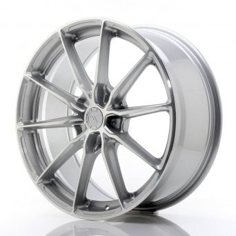 Japan Racing Wheels - JR-37 Silver Machined (20x8.5 inch)