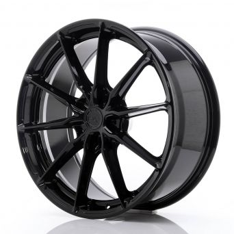 Japan Racing Wheels - JR-37 Glossy Black (20x8.5 inch)