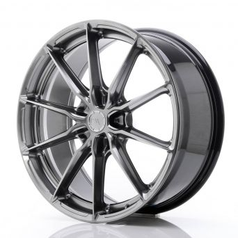 Japan Racing Wheels - JR-37 Hyper Black (20x8.5 inch)