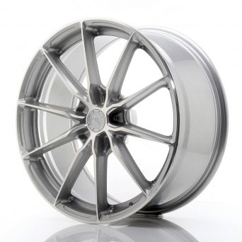 Japan Racing Wheels - JR-37 Silver Machined (20x9 inch)