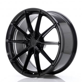 Japan Racing Wheels - JR-37 Glossy Black (20x9 inch)