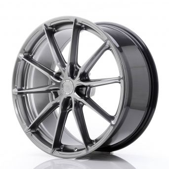 Japan Racing Wheels - JR-37 Hyper Black (20x9 inch)