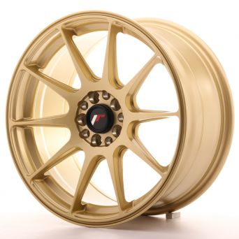 Japan Racing Wheels - JR-11 Gold (17x8.25 inch)